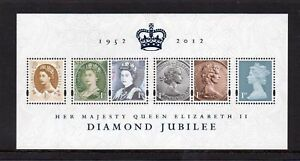 GB-2012-Commemorative-Stamps-Diamond-Jubilee-M-S-Unmounted-Mint-Set-UK