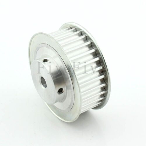 HTD8M 30 Tooth 8//10//12//12.7//15//17//20mm Bore Wide 27mm Timing Belt Drive Pulley