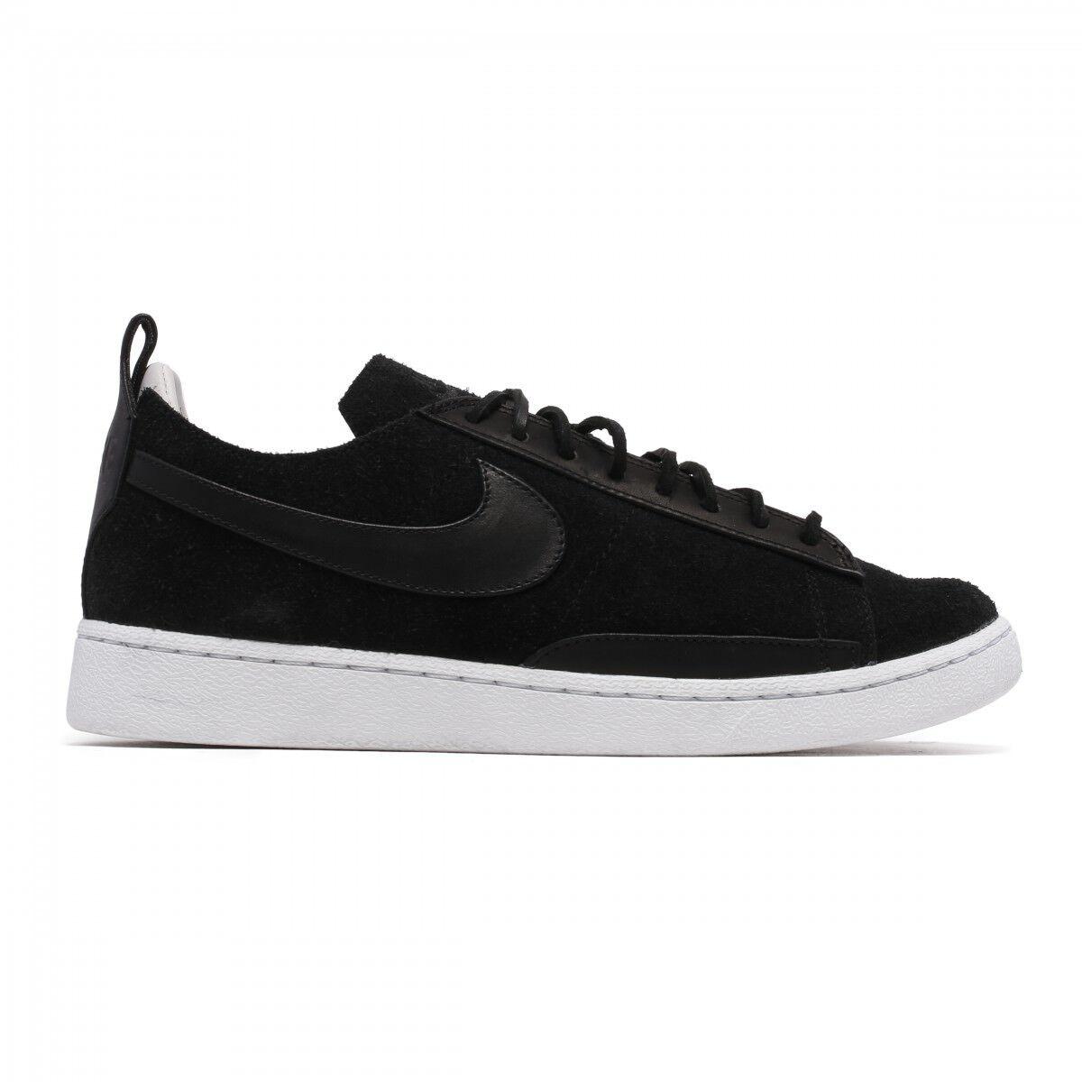Nike blazer basso in edizione limitata di cs tc nero / bianco nero aa1057 001