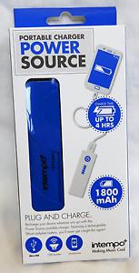 Intempo-Portable-Chargeur-Source-d-039-alimentation-avec-Micro-USB-Portable-Chargeur-Entierement