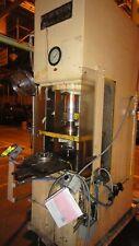 70 Ton Denison Hydraulic C Frame Press 12 Stroke 24 Daylight 28 X 20 Bed Pal