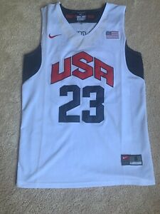 separation shoes e4fd3 ec6f7 Details about KYRIE IRVING NIKE SMALL USA BASKETBALL OLYMPIC STITCHED  JERSEY #23