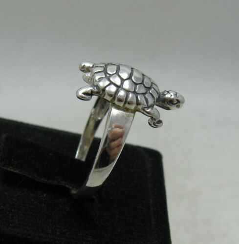 STERLING SILVER RING SOLID 925 TURTLE NEW SIZE A Z R001176 EMPRESS