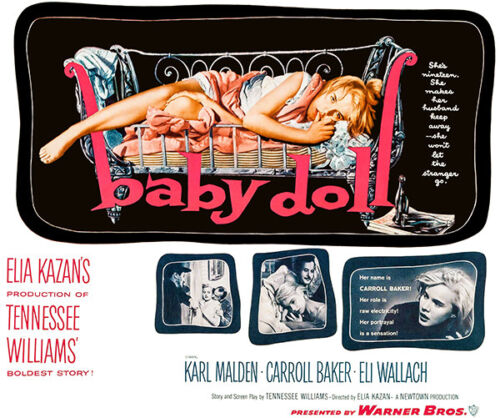 1957 Movie Poster Baby Doll