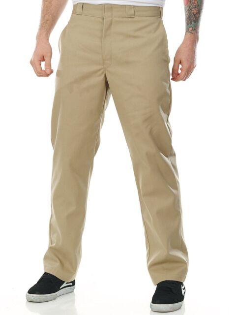 Dickies Big Men 874KH Flat Front Traditional Work Pants Khaki 46 x 30