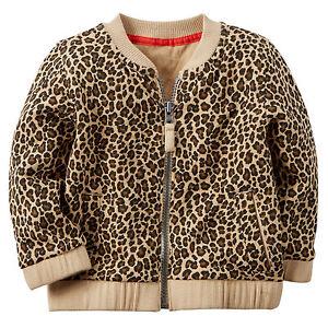 2e6442b27 Carters 3 9 24 Months Leopard Print Cardigan Jacket Baby Girl ...