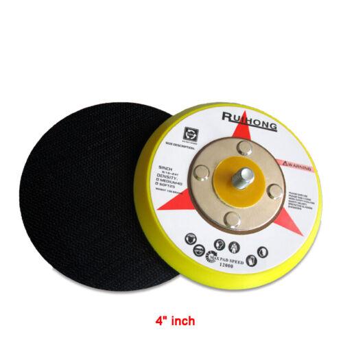 """4/"""" 100mm DA Sanding Pad Hook-Loop Backing pads Dual Action Air Sander 5//16/"""" *24"""