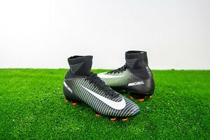 uk availability 9419d b1f0a Image is loading Nike-JR-Mercurial-Superfly-V-FG-Kids-Youth-