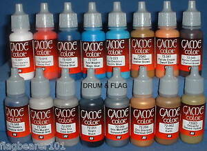 VALLEJO-GAME-COLOR-PAINT-ANY-16-BOTTLES-OF-YOUR-CHOICE-ACRYLIC-17ml