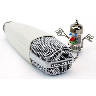 """Sennheiser MD421-2 Vinage Mikrofon Großtuchel """"Das Mikro"""" + Gebraucht + Garantie"""