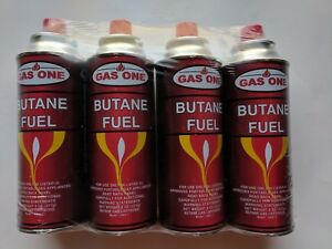 GasOne-Butane-Fuel-Portable-Stove-Burner-Camping-8-oz-Canisters-4-Pack