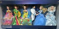 Disney Cinderella 2015 Live Action Film Collection 6 Dolls As Seen On Film