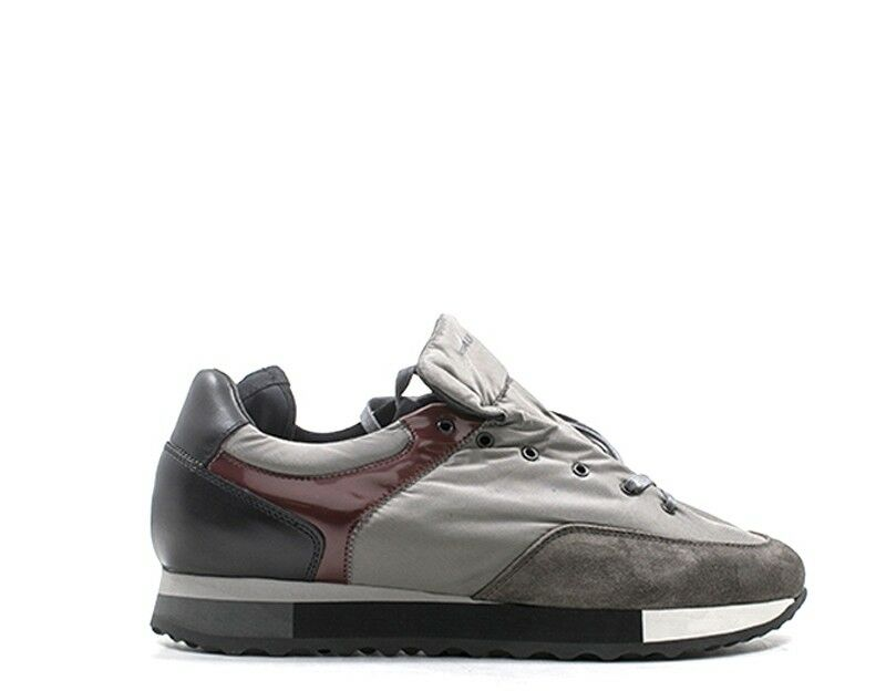 shoes FRAU men Sneakers trendy  grey Scamosciato,Tessuto 23B2-LAGR