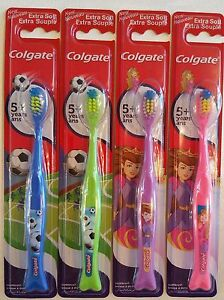 Colgate-5-Children-s-Toothbrush-EXTRA-SOFT-Please-Choose-Colour