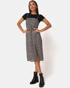 Kaoya-Midi-Dress-in-Ditsy-Rose-Black-by-Motel-Size-S