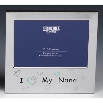 I Love My Nana Photo Frame Grandmother Birthday Present Grandma