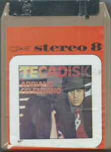 STEREO-8-TAPE-ADRIANO-CELENTANO-Tecadisk-Clan-77-1st-ps-disco-pop-r-039-n-039-r-SEALED