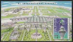 (224M)MALAYSIA 1998 KUALA LUMPUR INTERNATIONAL AIRPORT -KLIA MS FRESH MNH