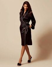 AGENT PROVOCATEUR BLACK CLASSIC DRESSING GOWN BNWT  SIZE SMALL / AP2