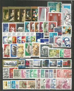 DDR   gestempelt 1973 komplett     A