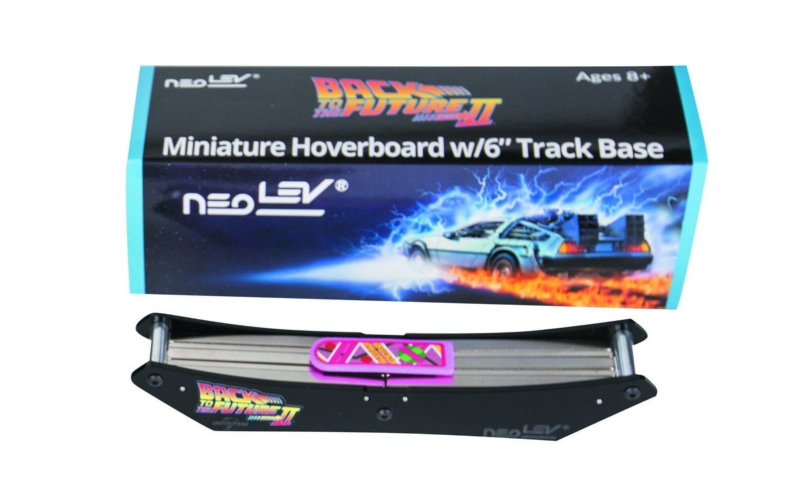 BTTF Miniature Hoverboard Desk Toy with 6 inch Base