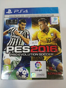 PES-2016-PRO-EVOLUTION-SOCCER-EDICION-DAY-ONE-MYCLUB-PS4-PLAYSTATION-4-NUEVO
