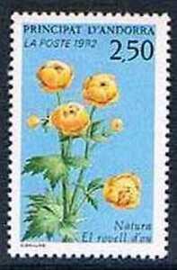 Devoted Andorre 1991 Yv N°420 Mnh** Protection De La Nature Faune Et Flore Le Bouton Professional Design