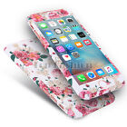 Hybrid 360 Shockproof Case Tempered Glass Cover For Apple iPhone 5s 7 6s Plus