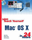 Sams Teach Yourself MAC OS X in 24 Hours by Brett Larson, Mike Perry (Paperback, 2001)