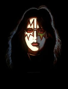 KISS-cd-cvr-ACE-FREHLEY-SOLO-ALBUM-Official-SHIRT-MED-new