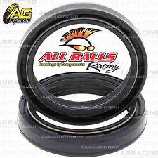 All Balls Fork Oil Seals Kit For Kawasaki KX 125 1991 91 Motocross Enduro