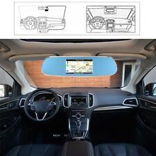 "Car DVR Camera 5"" 1080P Rearview Mirror GPS Navigation WIFI Video Recorder C4S5"
