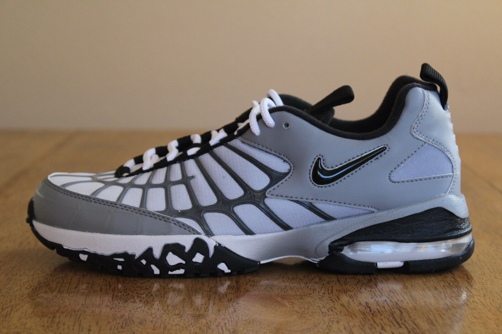 18 New Mens Nike Air Max 120 Running Shoes Stealth/Black-White 819857-002 8.5