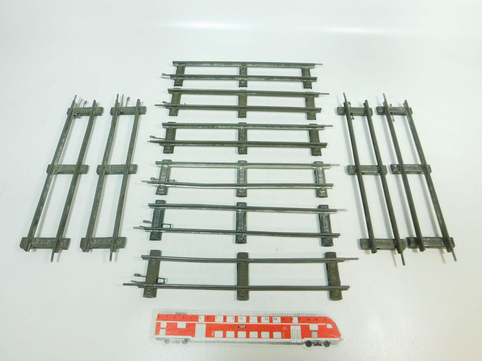 BR845-1 10x Märklin Traccia 0 0 0 Binario   Pezzo Pista Dritto (26 cm) Per bcaf9f