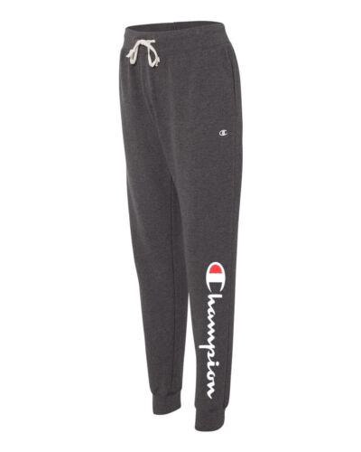 Champion Women/'s Joggers French Terry Jogger Sweatpants Scripted Logo S-2XL