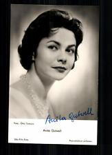 Anita Gutwell UFA Autogrammkarte Original Signiert ## BC 14670