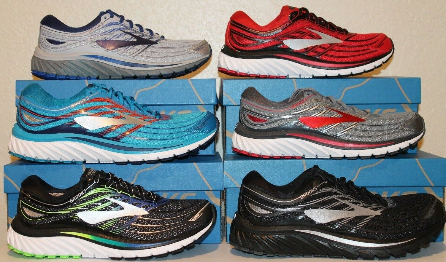 Mens Brooks Glycerin 15 Neutral Cushion Cushion Cushion Running scarpe 110258 New With Box c7ef6b
