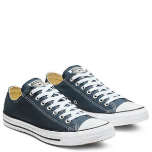 CONVERSE-Chuck-Taylor-All-Star-Classic-Low-Top-Scarpe-Sneakers-NAVY-M9697C