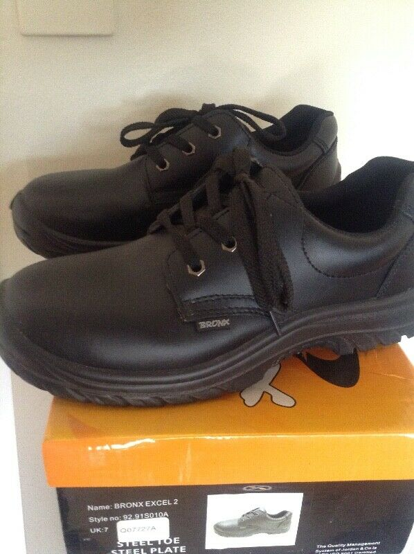 New Safety Boots - Steel Toe - Chef Safety Boots