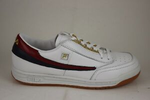 24392dd1c9ac Men s Fila Retro Original Tennis White Navy Red 1VT13031-125 Brand ...