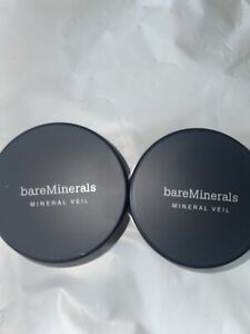 BareMinerals Tinted Mineral Veil Finishing Face Powder 9g Lot Of 2
