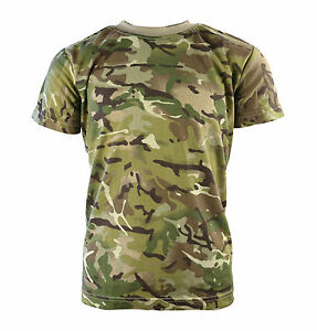 095ba3a2 Image is loading Kids-Childrens-MTP-Style-Camo-T-Shirt-tshirt-