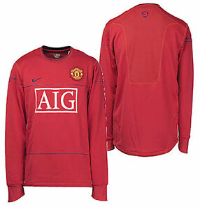 1b28cf1a002 Image is loading NIKE-MANCHESTER-UNITED-LONG-SLEEVE-LIGHTWEIGHT-TRAINING-TOP -