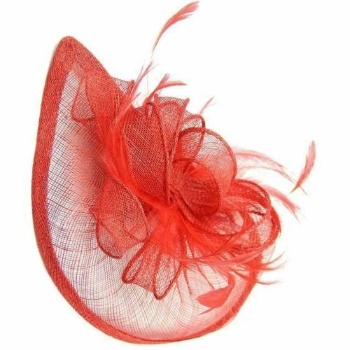 Elegant Headband Fascinator Hat Alice band Wedding,Royal Ascot Race Ladies Day