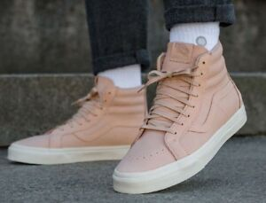 378fe9e6b7 Vans Sk8 Hi Reissue Zip Veggie Tan Leather Tan Mens Size 11.5 New In ...