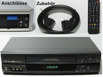 optische Mängel Sharp VC-ME80 VHS Videorecorder Top Line 1 Jahr Garantie