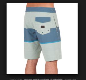 NEW VOLCOM board shorts swim  trunks Quarta Static Stoney bluee 30 32 34 36 38