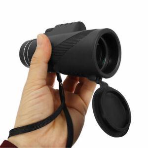 40X60-Monocular-Night-Vision-Waterproof-Eyepiece-Telescope-BAK4-Prism-w-Tripod