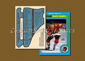 Bobby-Orr-Chicago-Black-Hawks-Custom-Hockey-Card-1978-79