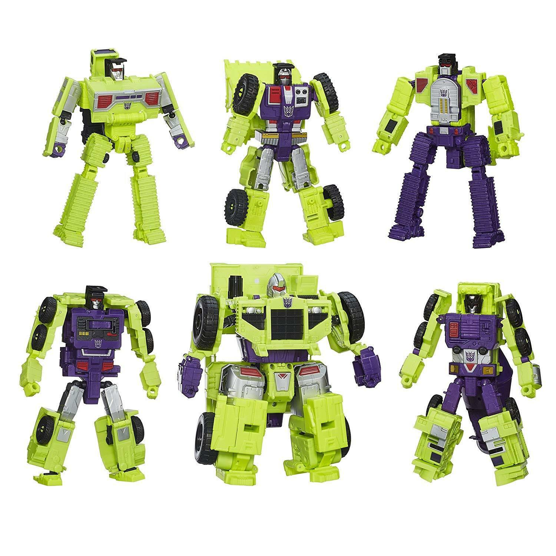 100% Hasbro Hasbro Hasbro Transformers Generations Combiner Guerras Devastator cifra Set nuovo ff2f48